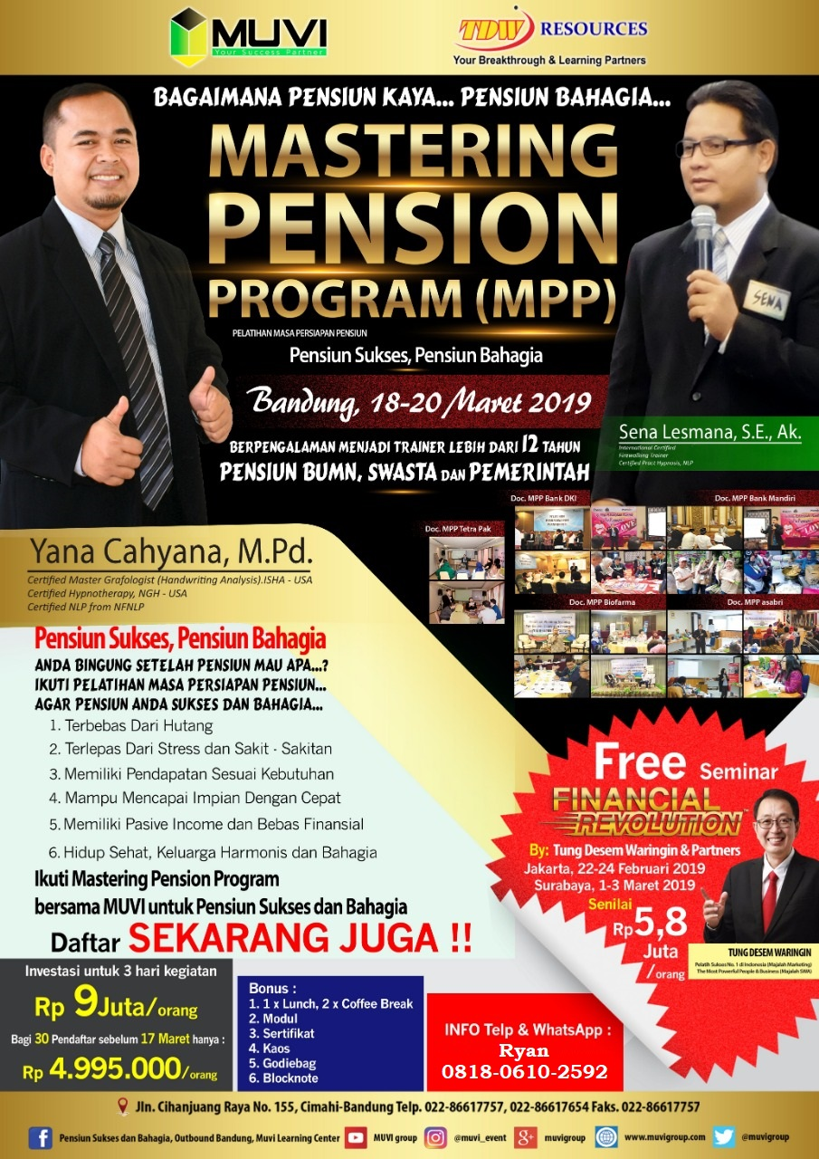 Mastering Pension Program